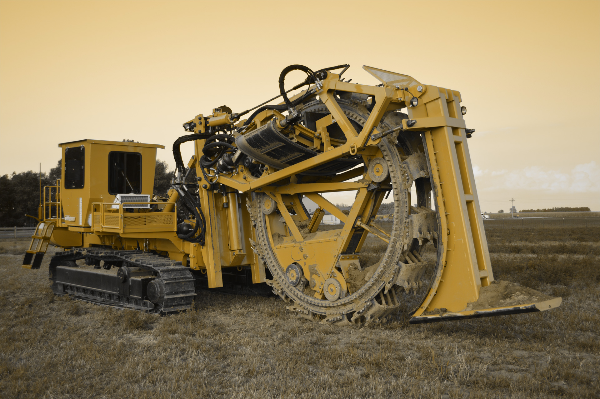 Trencher Repair and Equipment