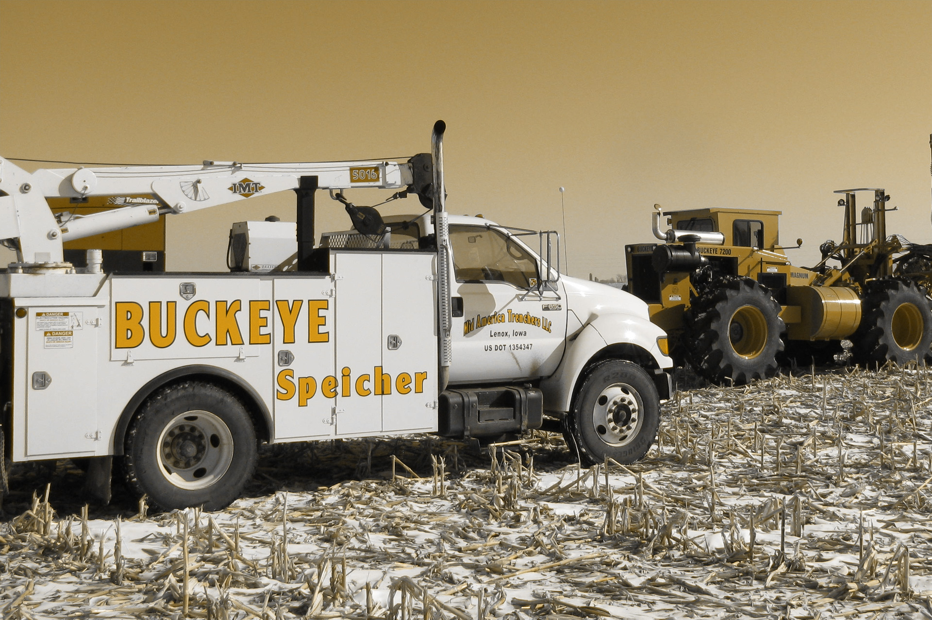 Used and New Trenchers in Iowa