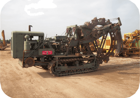 Used Commercial Trenchers & Agricultural Farm Drainage